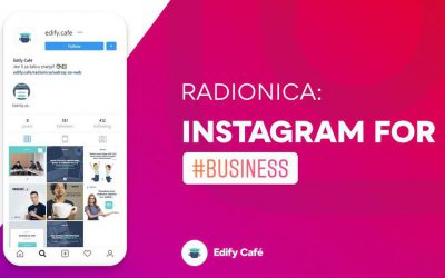 INSTAGRAM FOR #BUSINESS – radionica